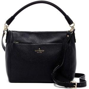 KATE SPADE Black Cobble Hill Leather Shoulder Bag